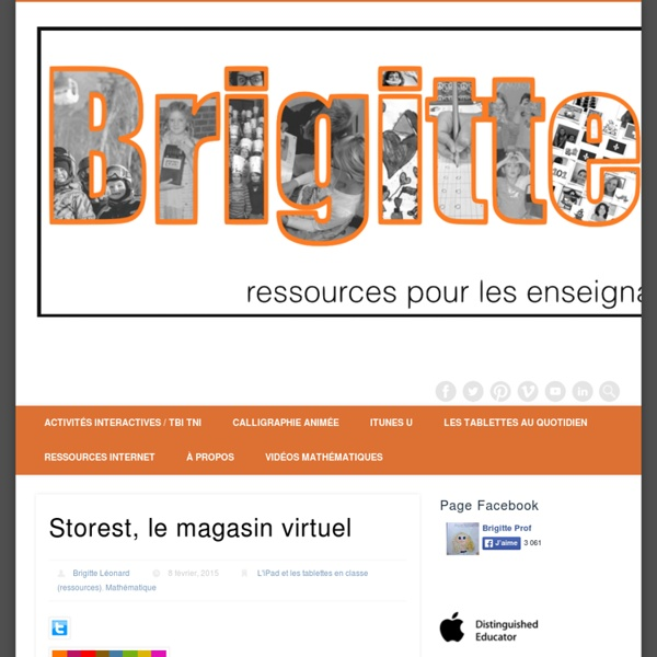 Storest, le magasin virtuel