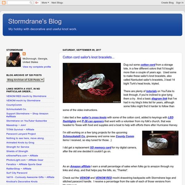 Stormdrane's Blog