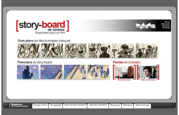 Story-board de cinéma : des esquisses pour un film