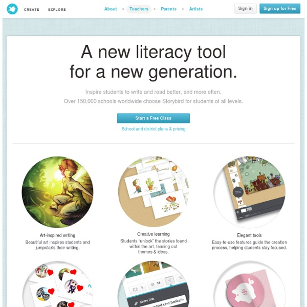 Storybird for Schools