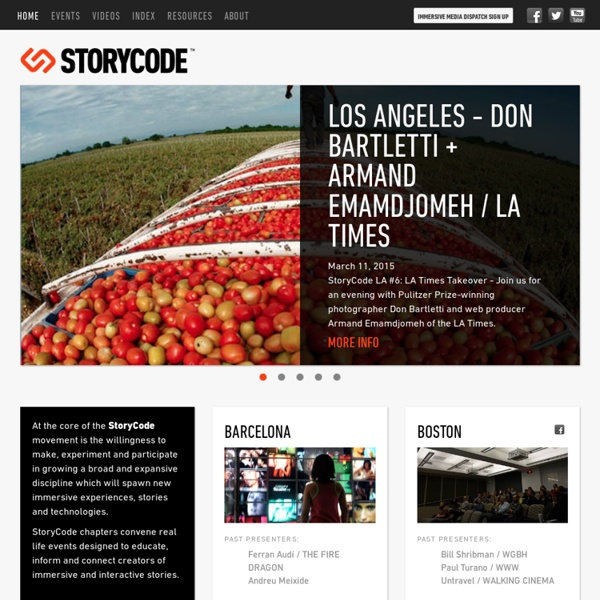 StoryCode: Immersive Media