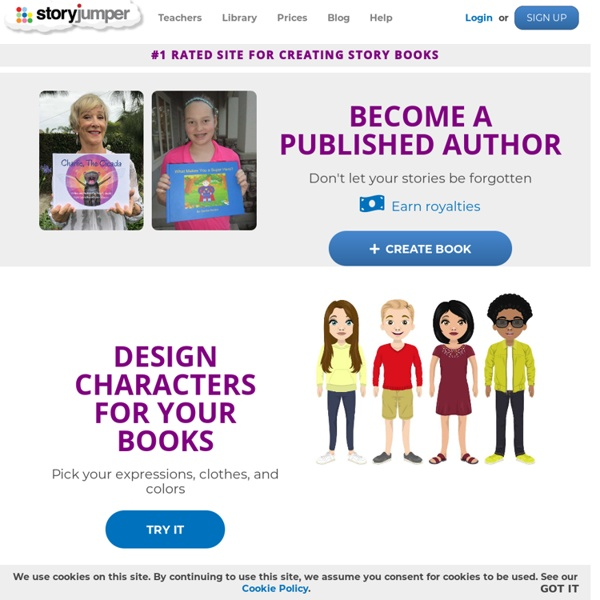 StoryJumper: Publish and read children's story books