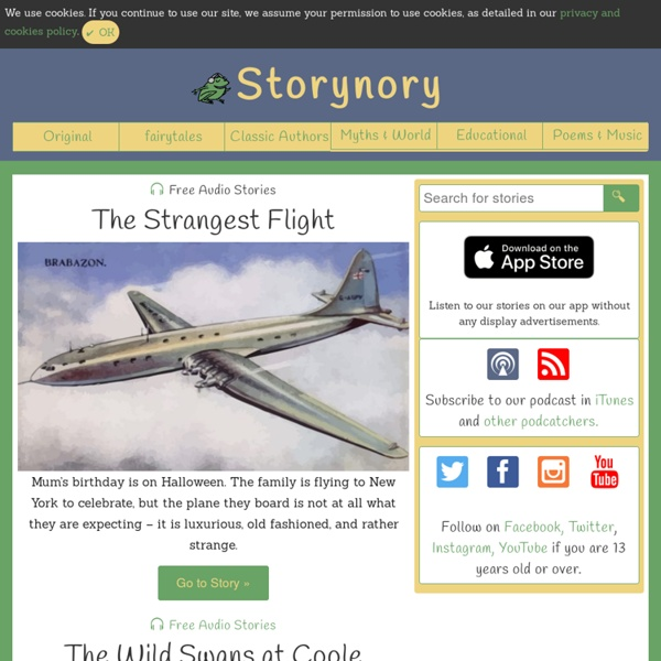 Storynory, Free Audio Stories for Kids