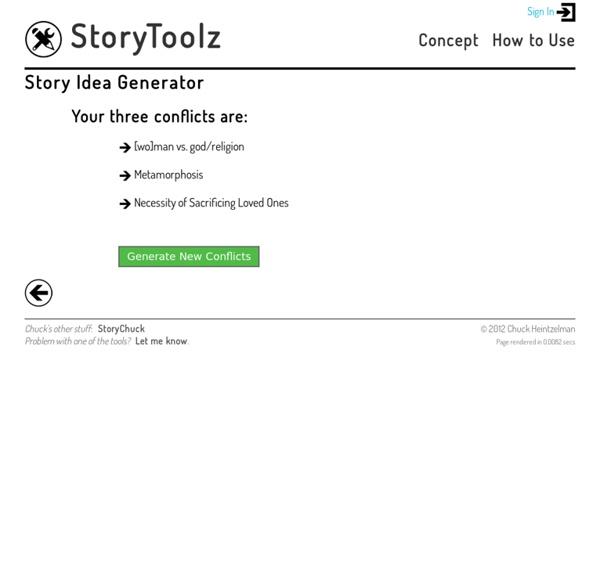 Story Idea Generator