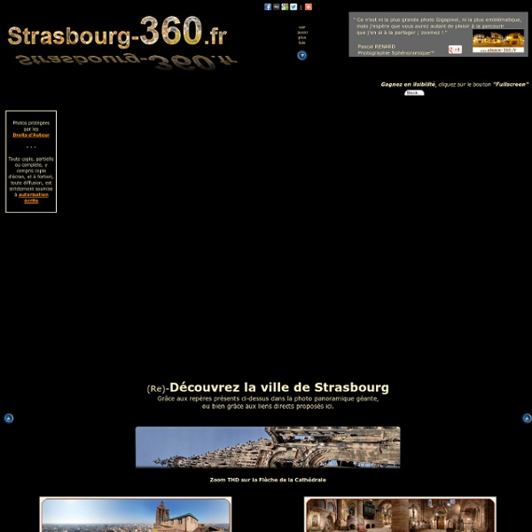 Strasbourg 360 - Photo panoramique géante