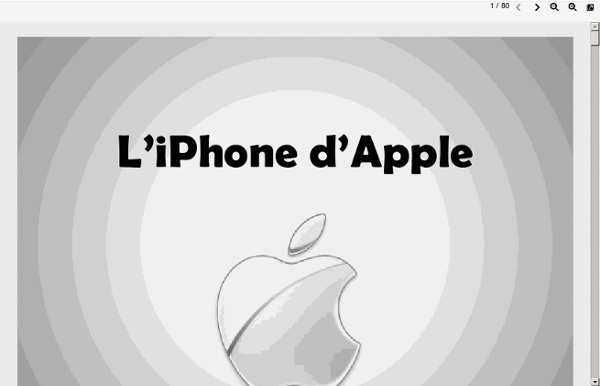 1. Analyse Stratégique dApple: iPhone