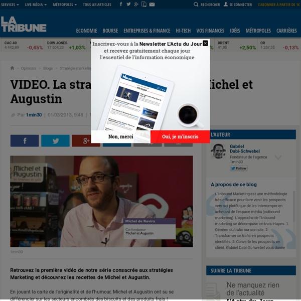 La stratégie Marketing de Michel et Augustin