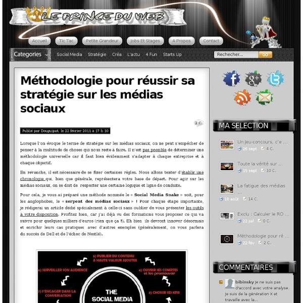 Stratégie sur les médias sociaux