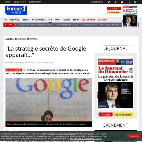 """""""La stratégie secrète de Google apparaît…"""""""