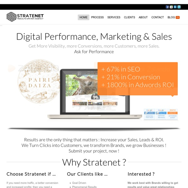 Stratenet - The Results Driven Agency