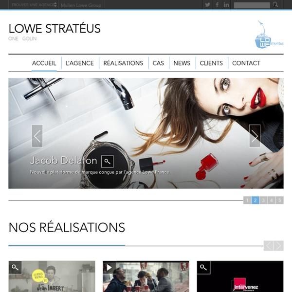 Lowe Strateus - A Mullen Lowe Group Agency Website
