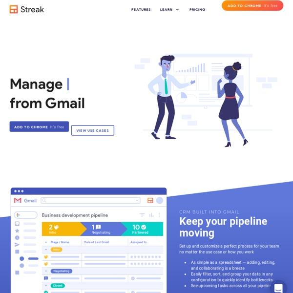Streak - CRM in your Inbox