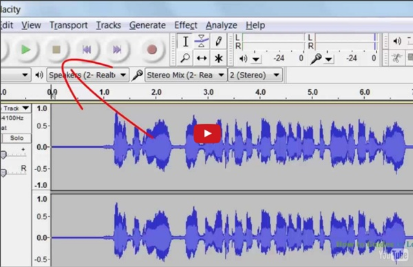 How to Record Streaming Audio, System Sound, or What You Hear Using Audacity - Free Software