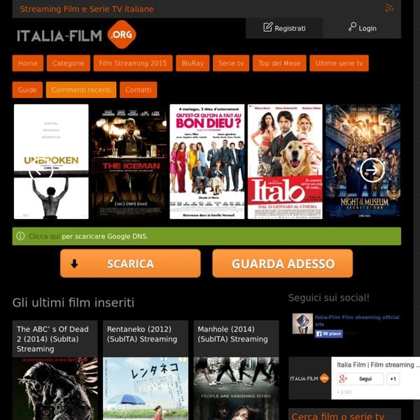 Film genere thriller in streaming gratis e download film