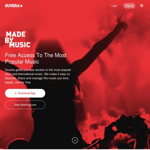 Guvera - Download and stream music for free, while the artists still get paid