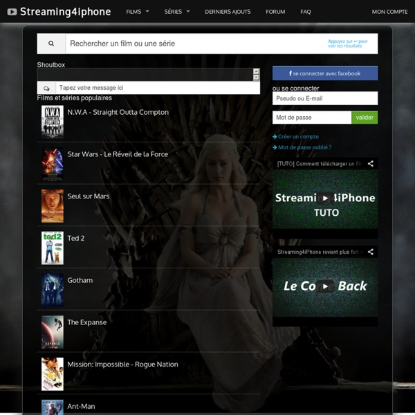 streaming iphone 4 gratuit