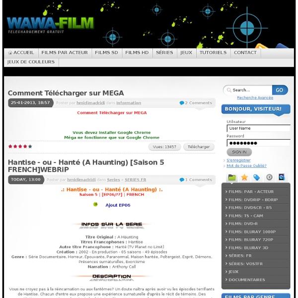 Streaming & Telechagement Gratuit Films & Series