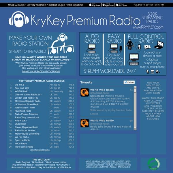 KryKey Internet Radio