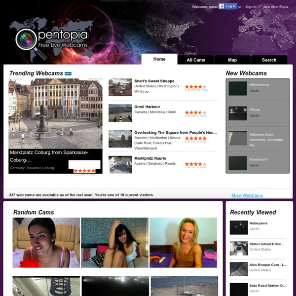 Free, Live Streaming Web Cam Views from Around the World