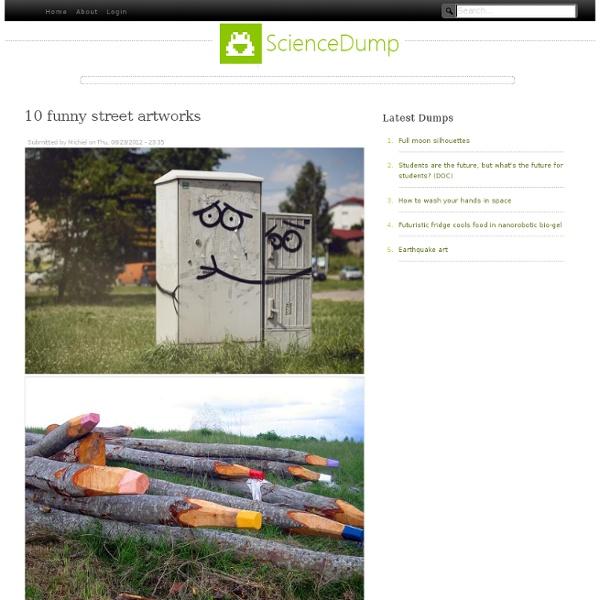 10 funny street artworks