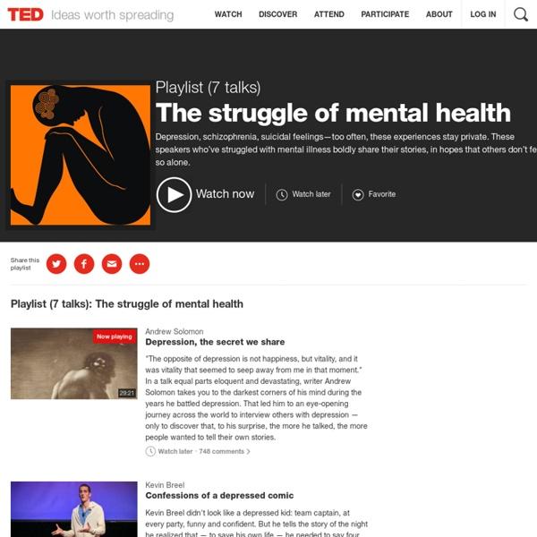 The struggle of mental health