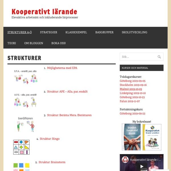 Strukturer – Kooperativt Lärande