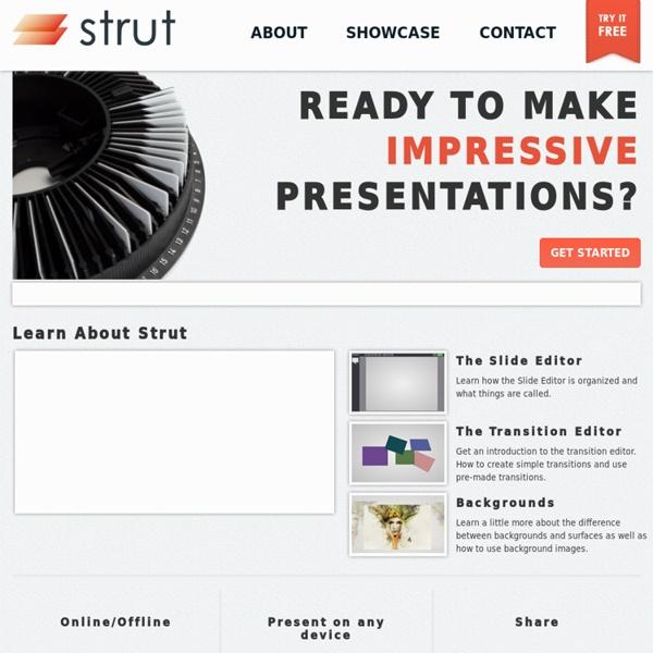 An HTML5 Presentation Editor