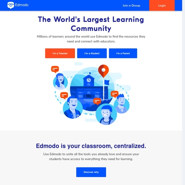 EDMODO: Connect With Students and Parents in Your Paperless Classroom