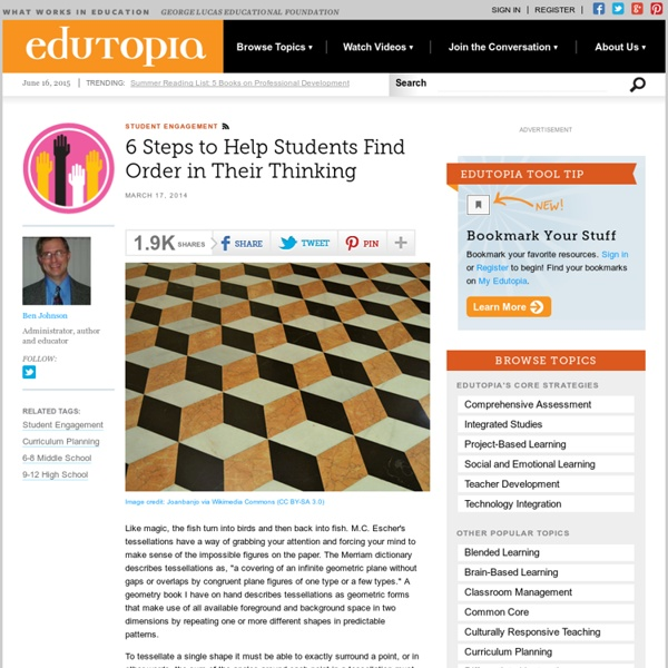 6 Steps to Help Students Find Order in Their Thinking