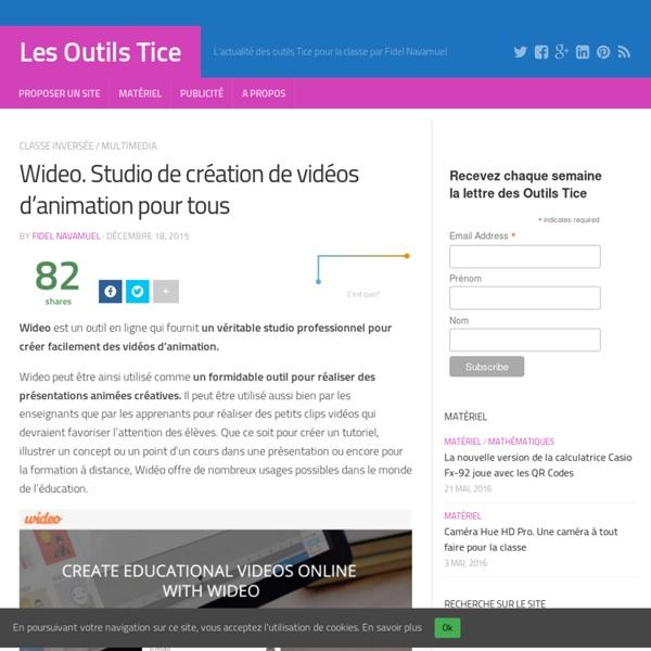 Wideo. Studio de création de vidéos d'animation pour tous