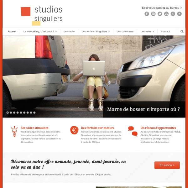 Studios Singuliers, espace de coworking ouvert Paris 18