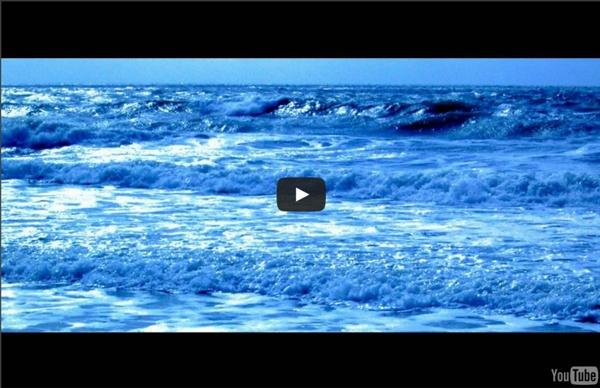 Les vagues de l'océan: 4h de méditation.