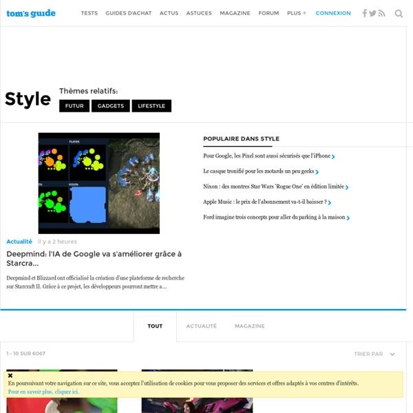 Tom's Style - Design et technologie