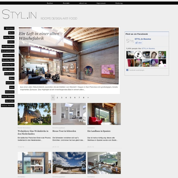 Interior design magazin blog sch ner wohnen wohnideen for Wohndesign 3000