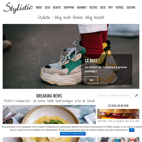 Blog mode femme : Stylistic
