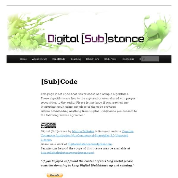 [Sub]Code