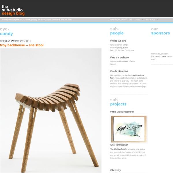 Sub-Studio Design Blog