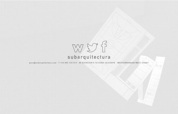 SUBARQUITECTURA · Architecture Office · Estudio de Arquitectura