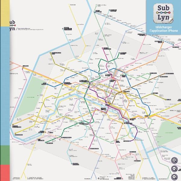 Sublyn est votre plan de métro, léger et rapide d'accès.