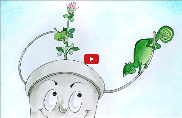 """Tucket the Bucket: Learn French with subtitles - Story for Children """"BookBox.com"""""""