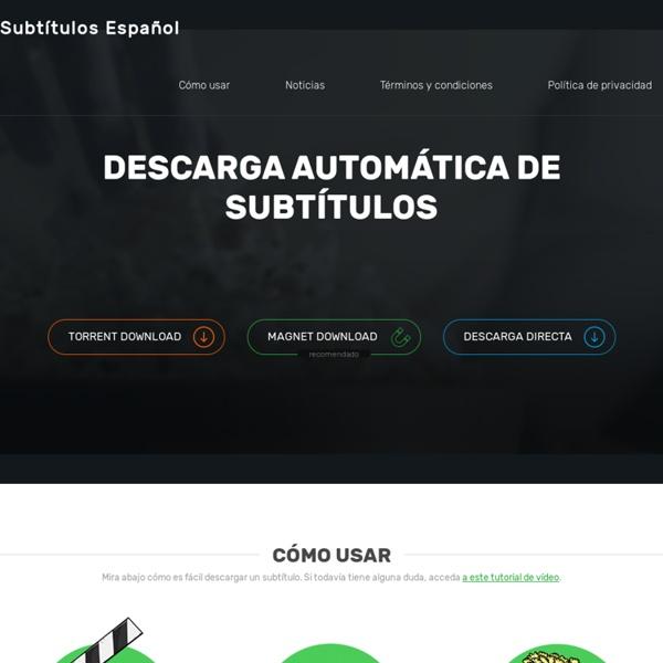 Descargar subtítulos en español para tus películas