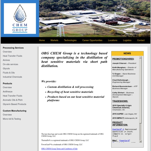 ORG CHEM Group