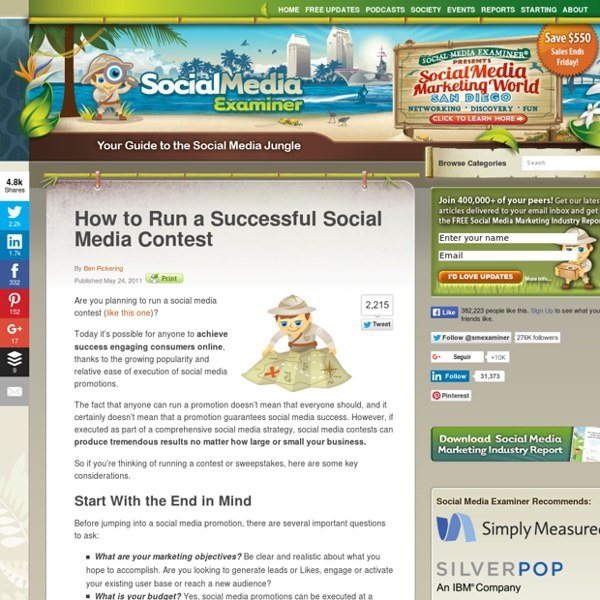 How to Run a Successful Social Media Contest