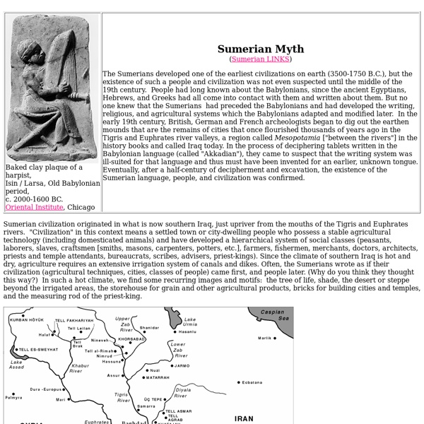 Sumerian Myths