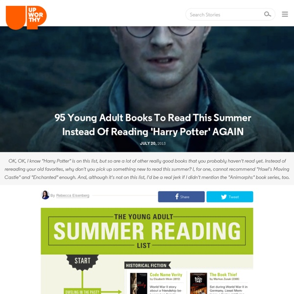 Harry Potter Books Young Readers : Young adult books to read this summer instead of