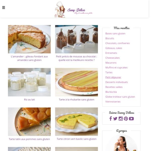 Blog de recettes sans gluten