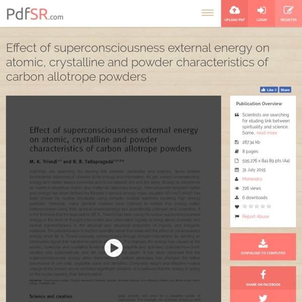 Alteration in Carbon Allotrope Powders Properties