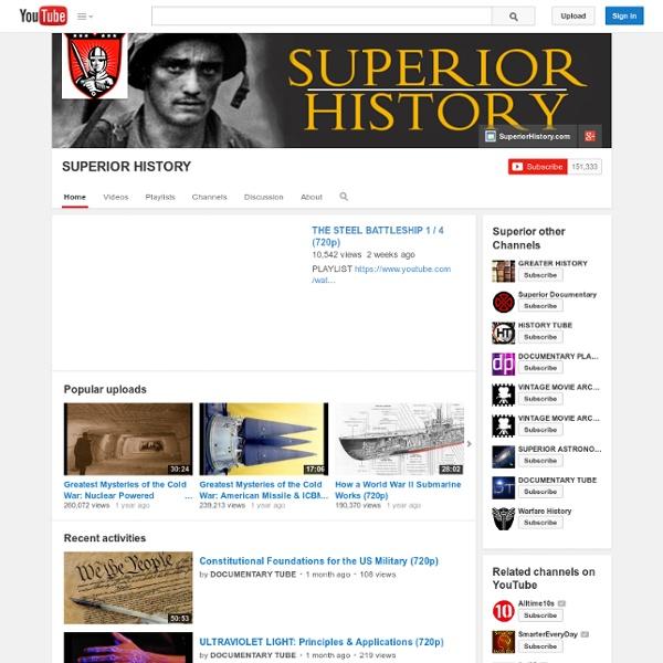 Superior History - military history videos