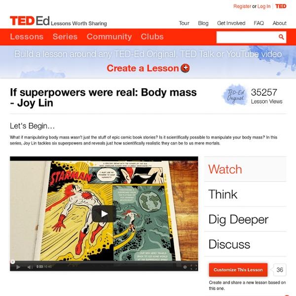 Superpower: Body Mass video