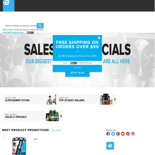Huge Online Supplement Store & Fitness Community!